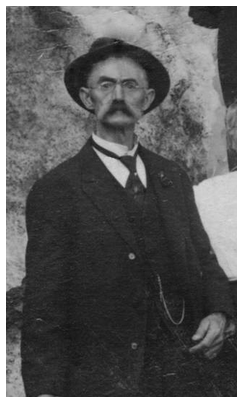Perry Summerfield, great-great grandfather of At-Large City Council Member Dean Johnson. Photo courtesy Les Uhrich, Meeker Mansion