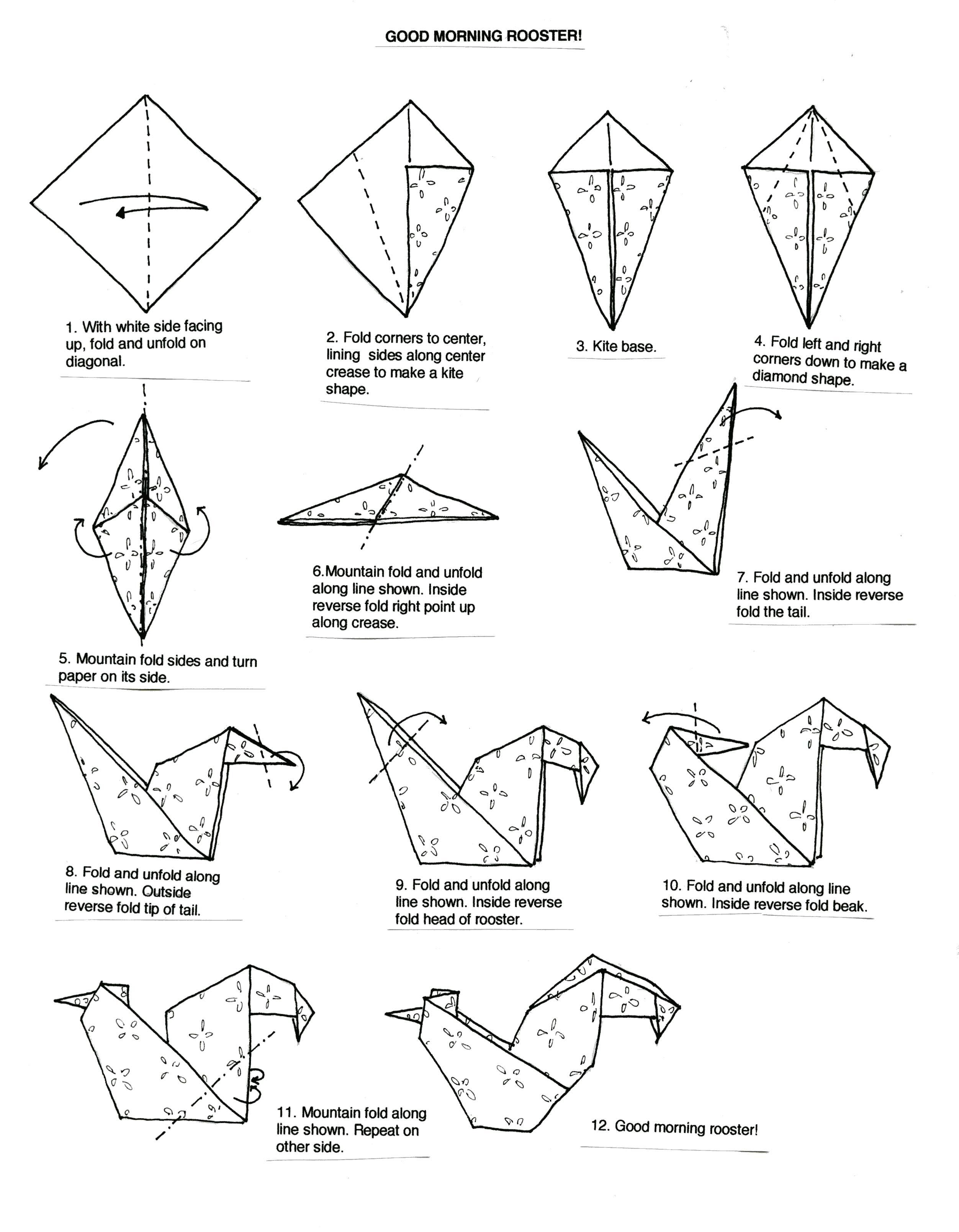 eaglehow to make a origami eagleorigami eagle diagramorigami eagle