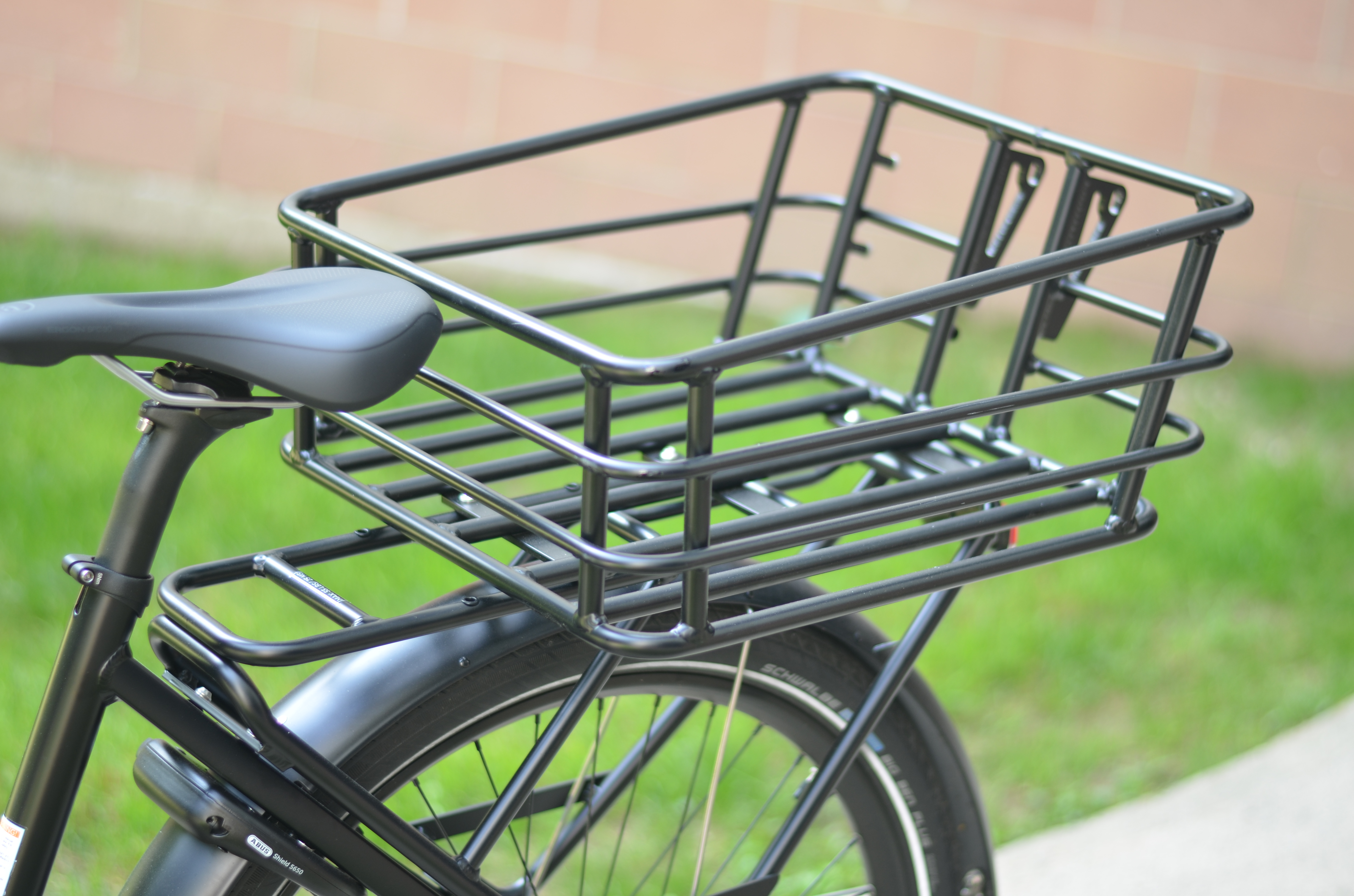Bike Basket Big W Electrek Review The Cero One Is Part Electric Cargo Bicycle Part