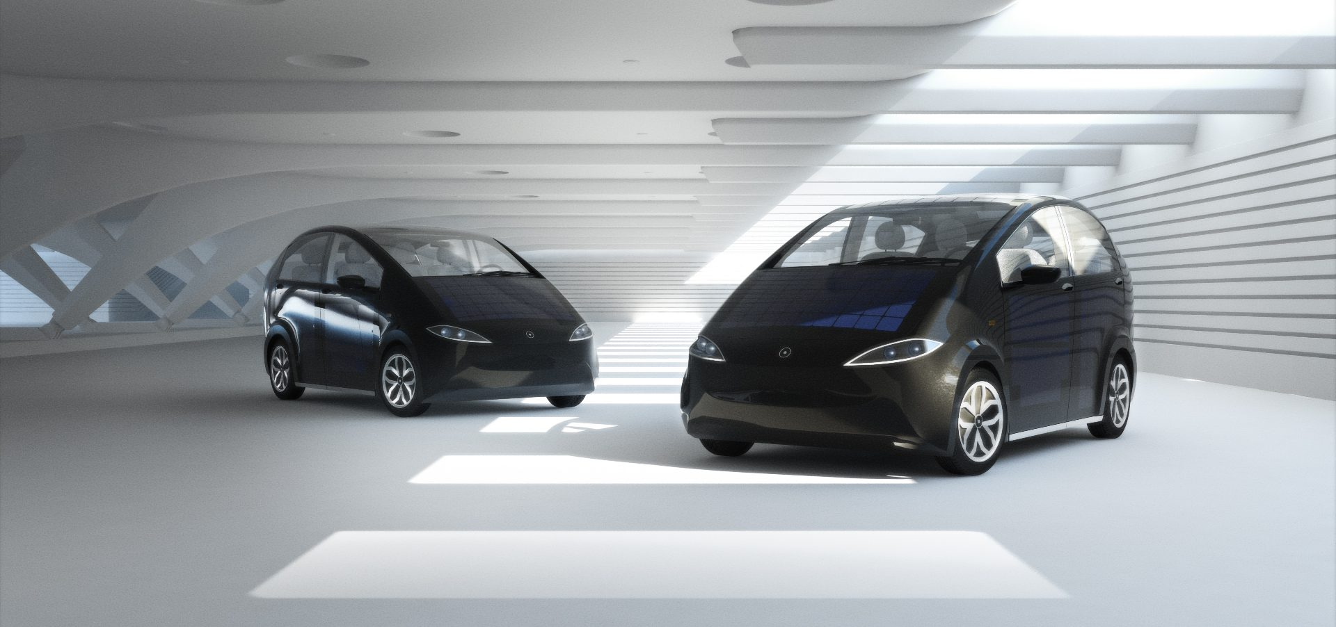 Garage Honda Sion All Electric And Solar Powered Car Successfully Crowdfunded Sono