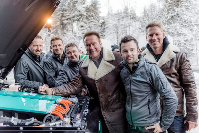 Swap Gmbh Arnold Schwarzenegger Will Now Drive A New Custom All