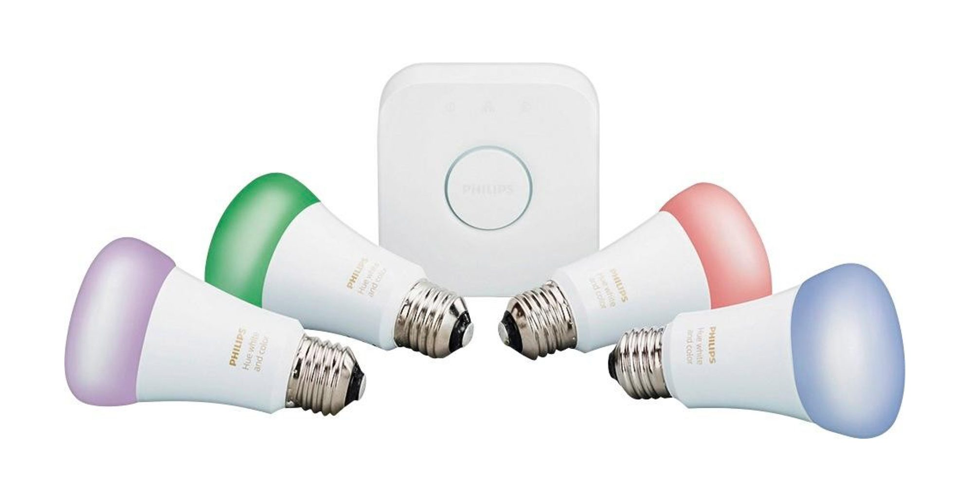 Philips Hub Green Deals Philips Hue 4th Gen Color Led Starter Kit For 140
