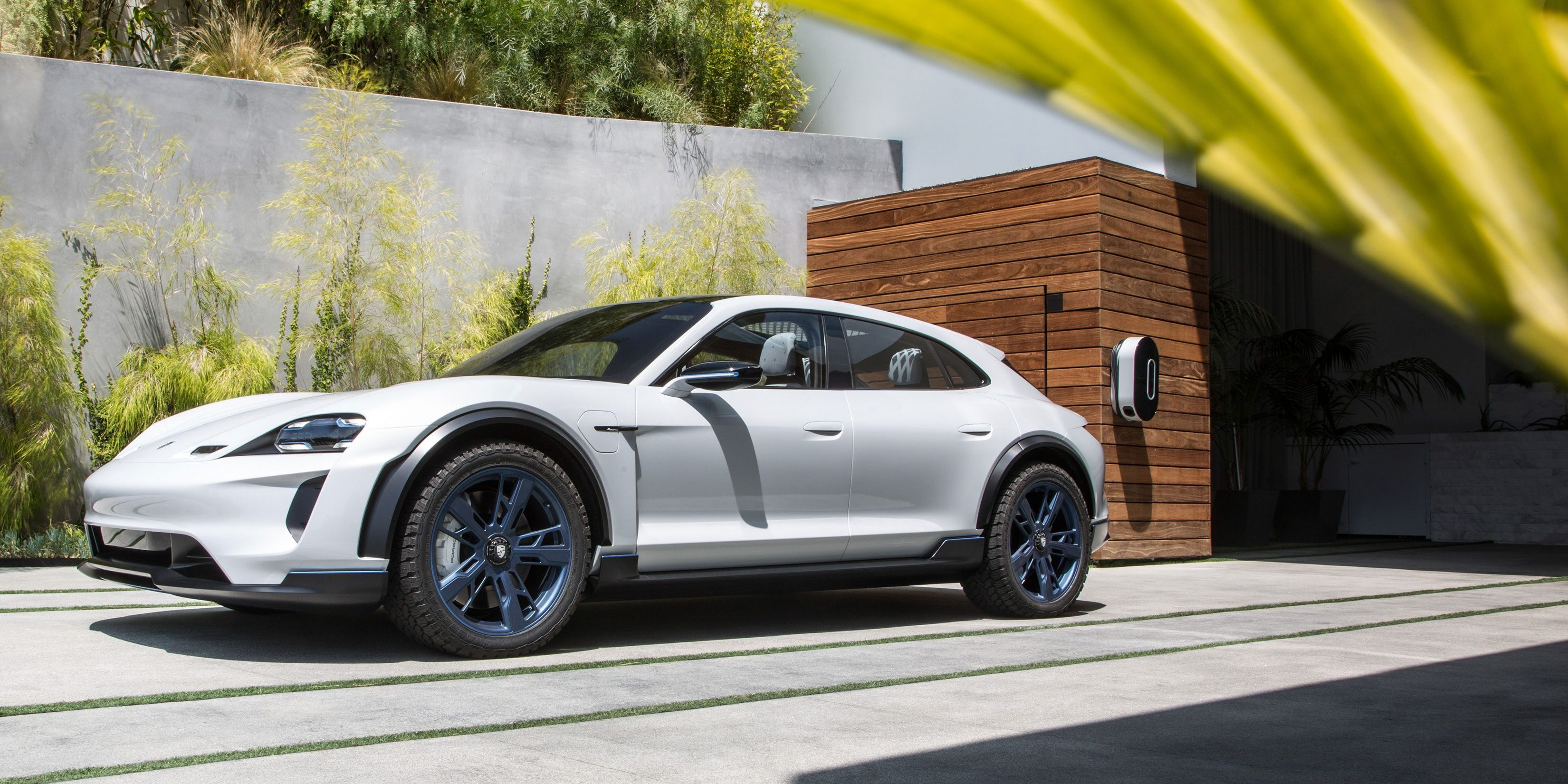 Cuv Car Porsche Greenlights All Electric Taycan Cuv For Production Based
