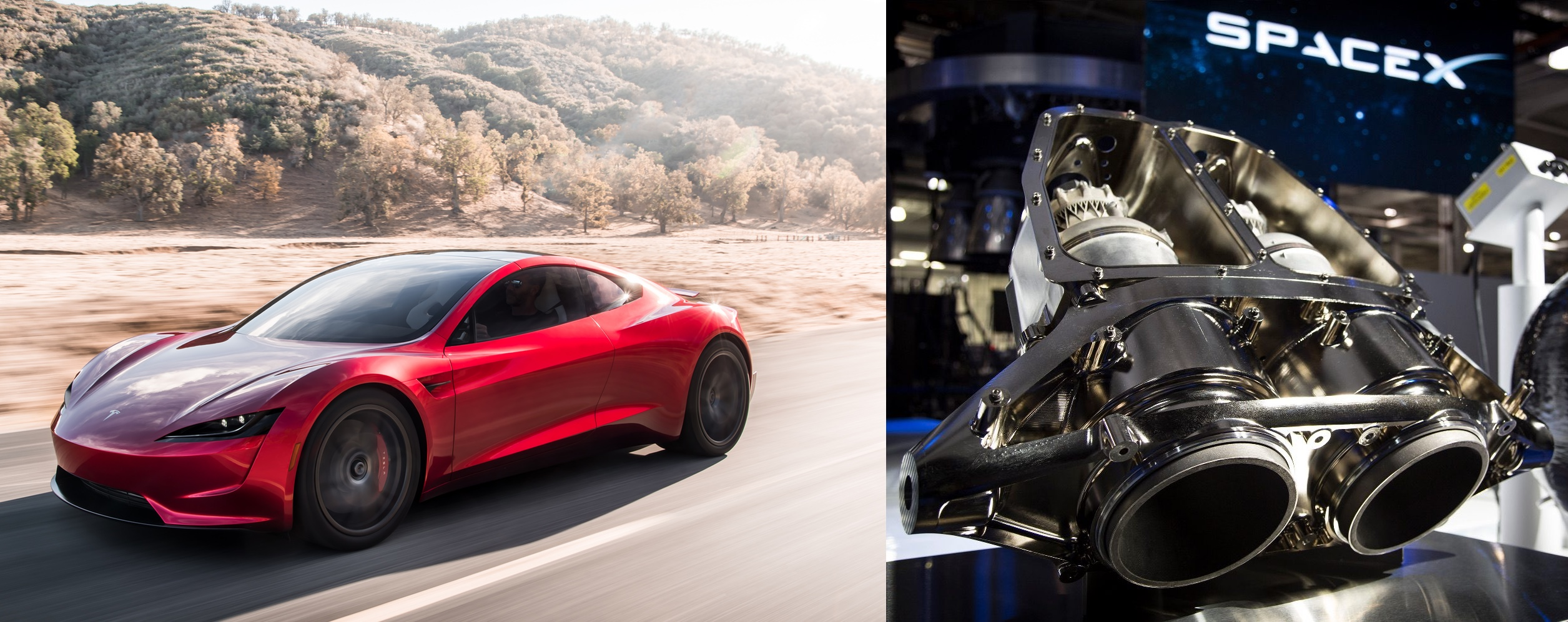 Musk Tesla The Elon Musk Says Tesla Next Gen Roadster S Spacex Package Will