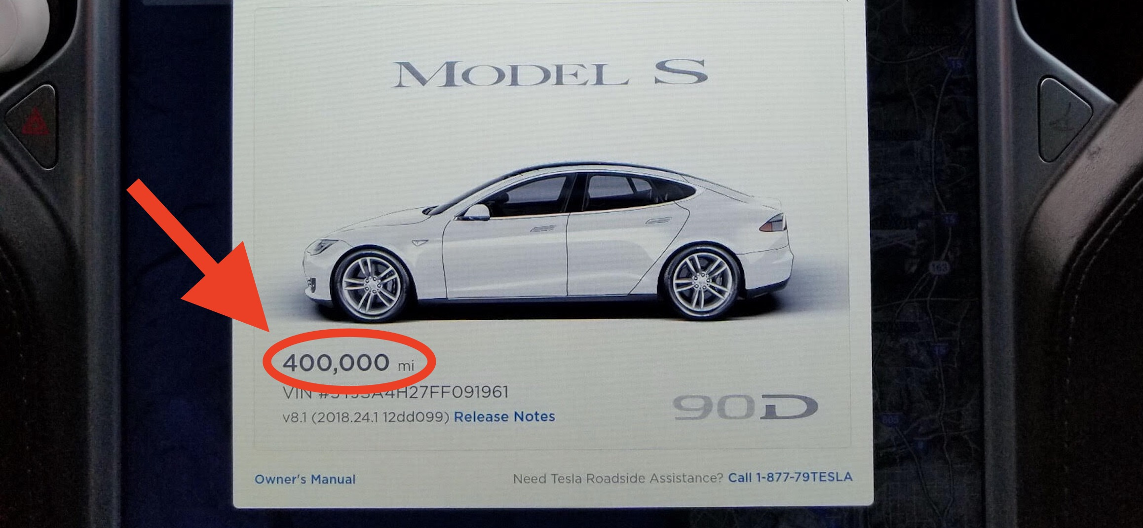 Miles And More Car Rental Here S How A Tesla Model S Holds Up After 400 000 Miles In 3 Years