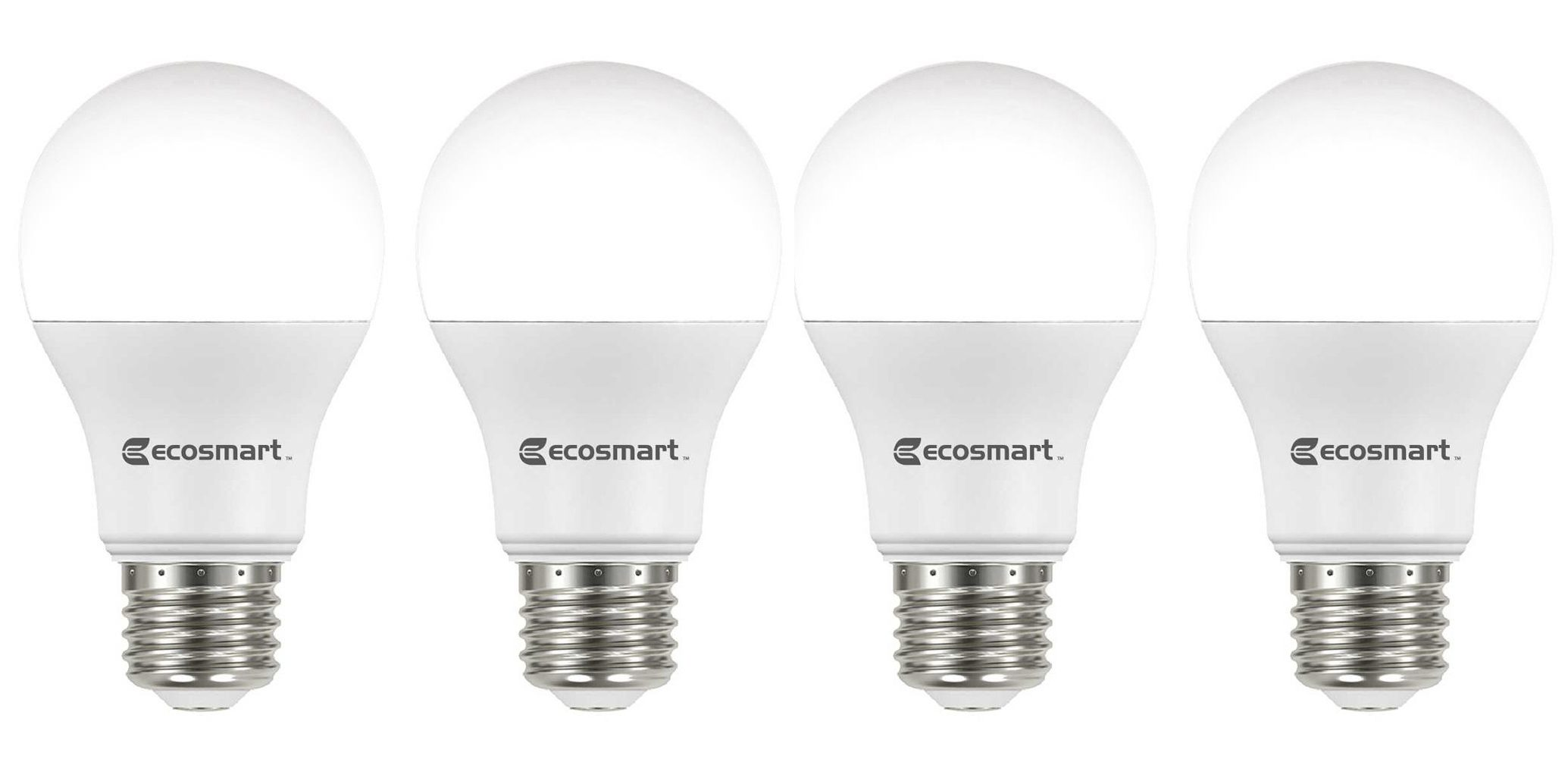 60w Light Bulb Green Deals Ecosmart 4 Pack 60w A19 Dimmable Led Light Bulbs 6