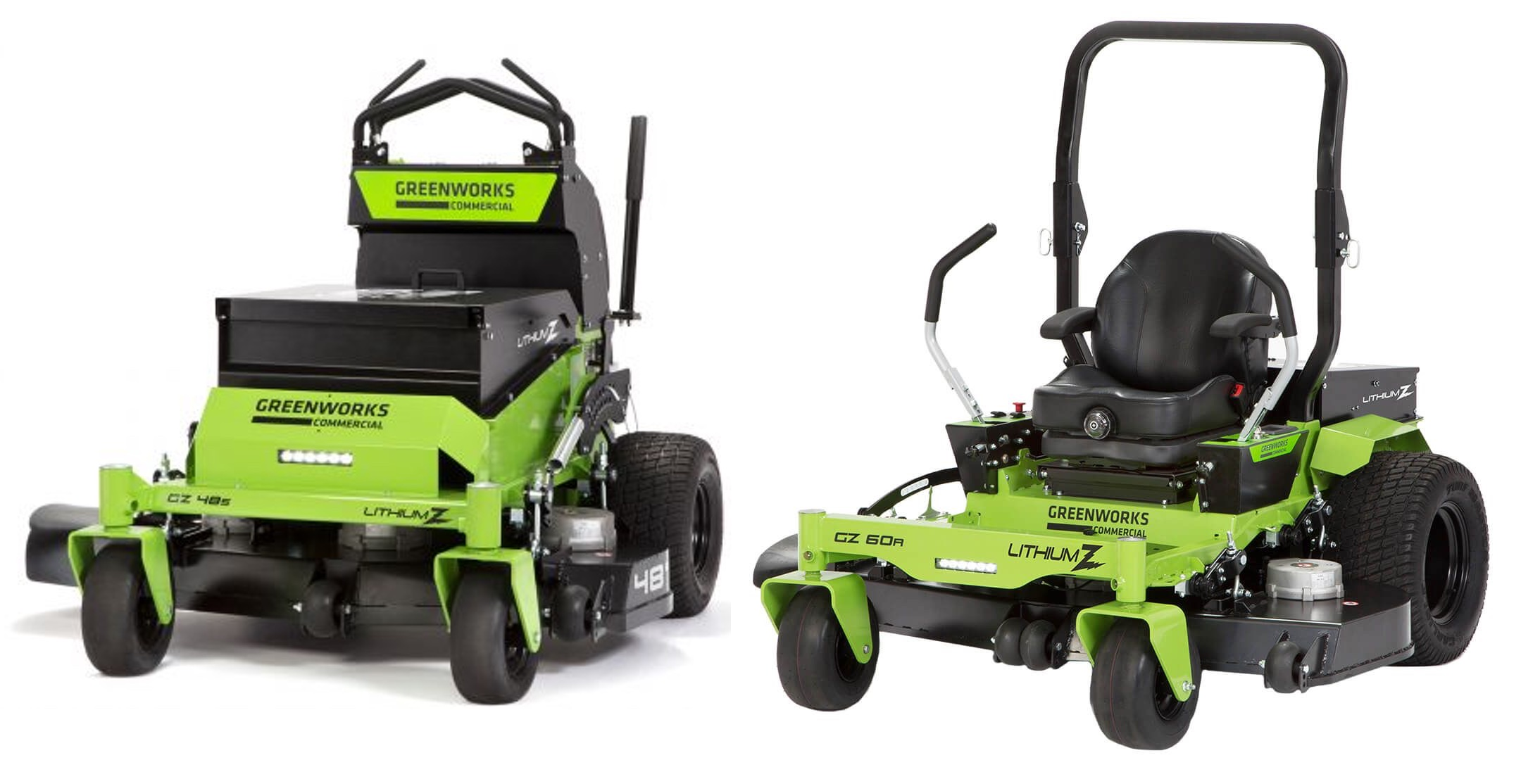 Electric Lawn Mower Sale First Look Greenworks Commercial Lithium Z Industrial Electric