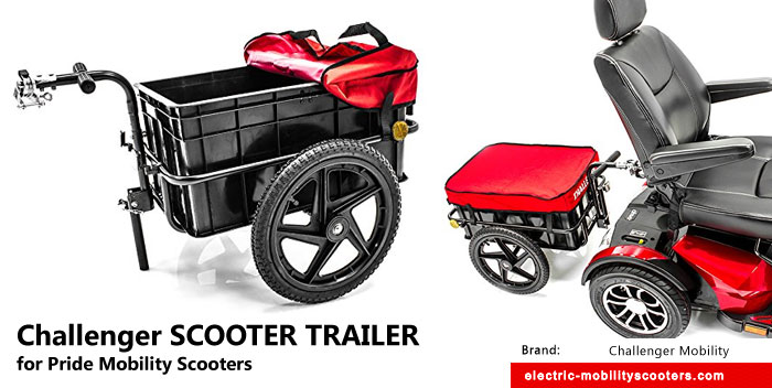 Cool Finds Challenger Scooter Trailer For Pride Mobility