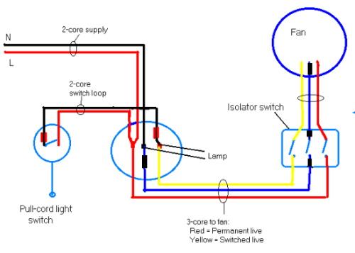 Wiring Diagram For Bathroom Fan Heater Wiring Diagram