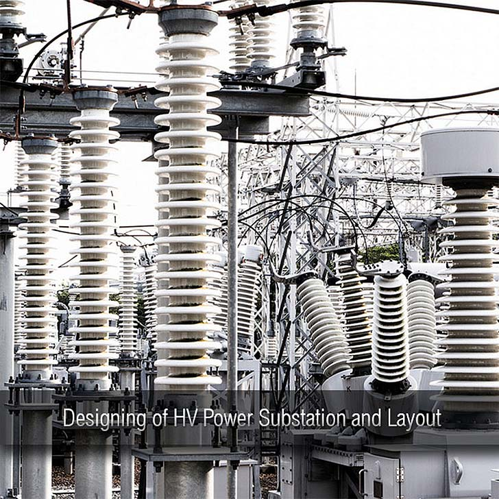 Designing of HV Power Substation and Layout