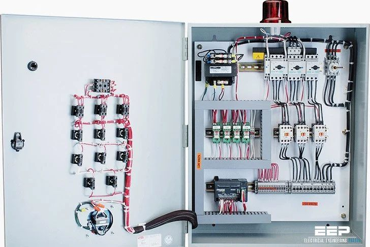 electrical wiring diagram schematic
