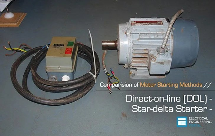 Comparision of DOL and Star-delta Motor Starting