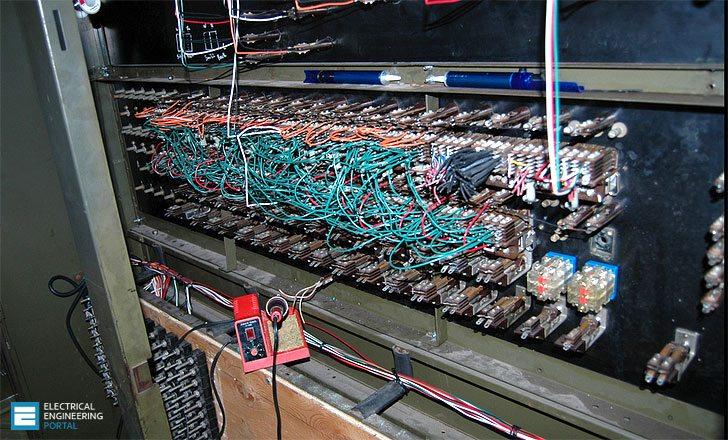 wiring relay logic panel