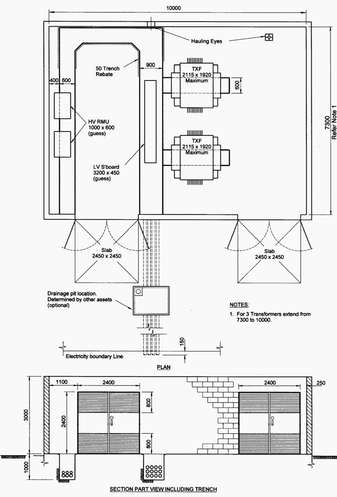 electrical plan and layout