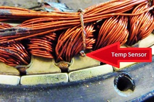 Practical tips for installation and using of thermistor motor