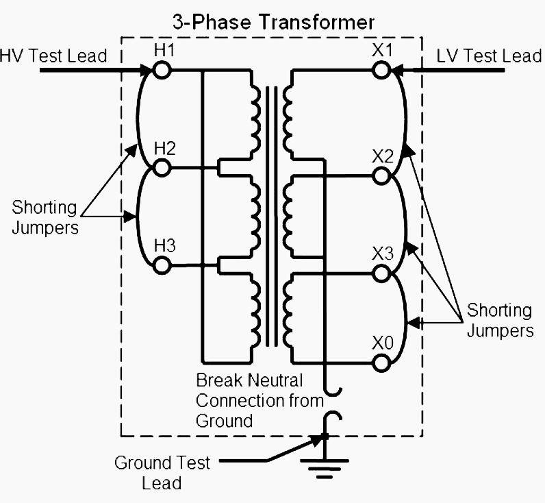 dry type transformer bedradings schema