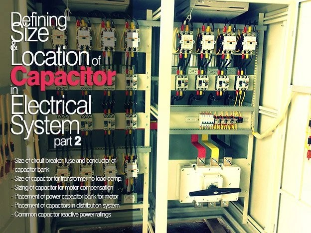 Defining Size and Location of Capacitor in Electrical System (2)