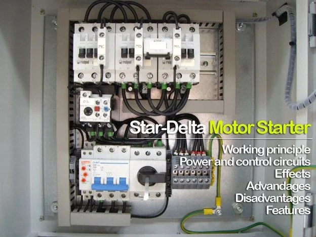 Star-delta motor starter explained in details EEP