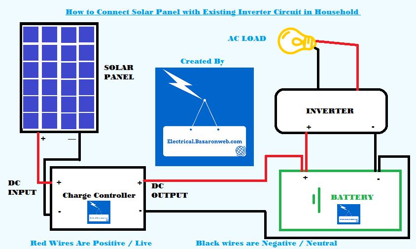 solar panel wiring schematic