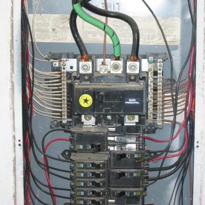 Ac Breaker Panel Wiring - Wiring Data Diagram