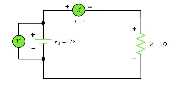 simple electrical circuit definition