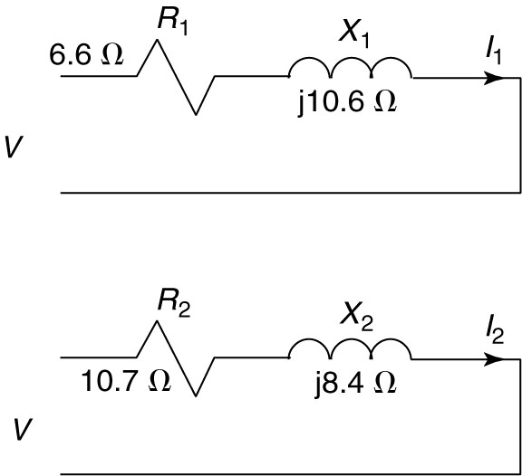 we consider given figure shown where resistance in a series circuit