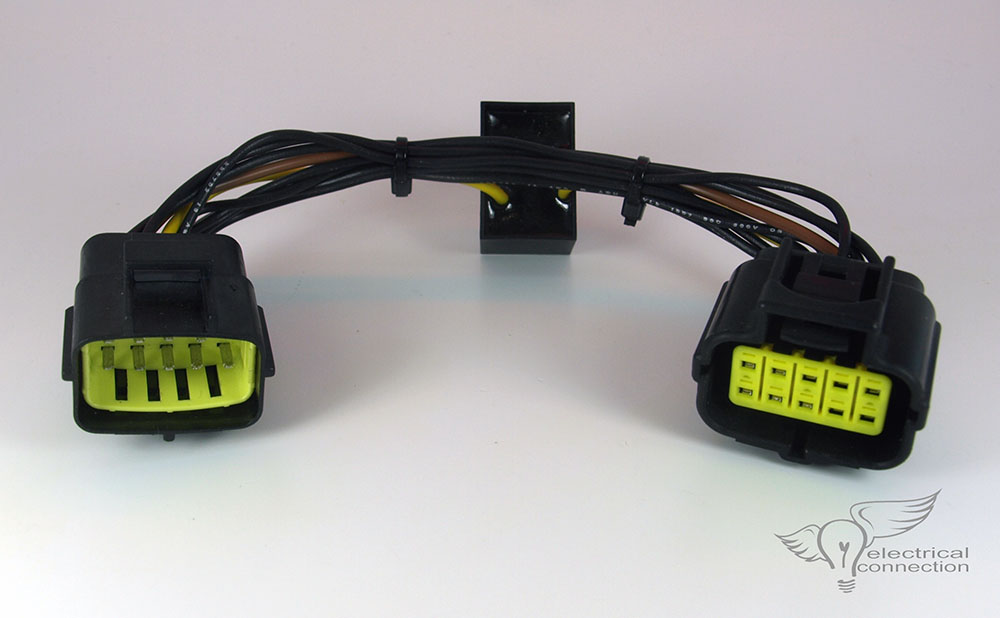 Honda GL1800 (06-17) Heated Seat Amplifier \u2013 Electrical Connection