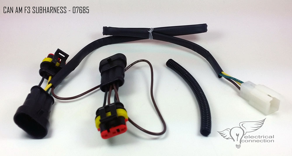 can am spyder wiring harness