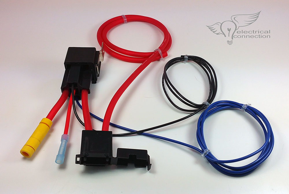 Universal Power Plate Fuse Block \u2013 Electrical Connection