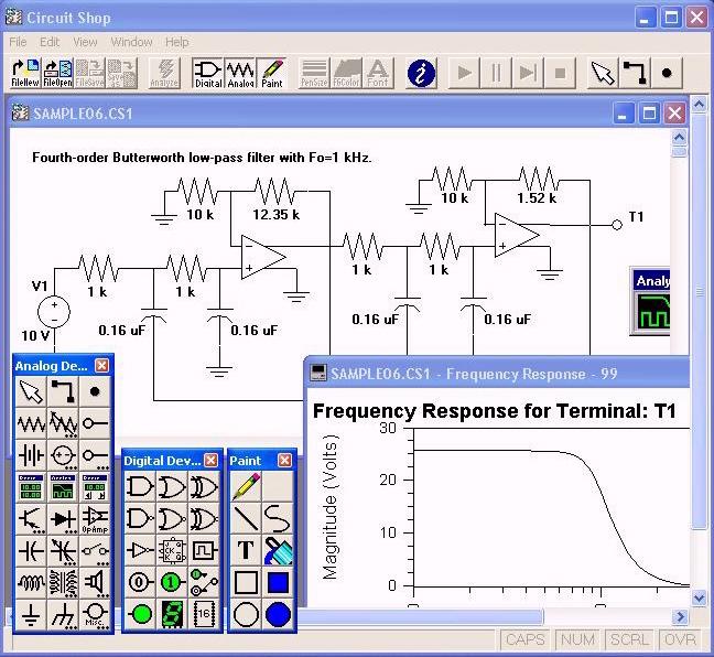 electronic circuit simulator wikipedia