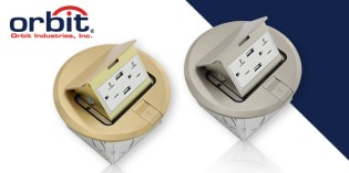 Stay Connected with Orbit's USB Receptacle Pop-Up Floor Boxes