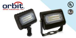 Create a Brighter, More Secure Locale with Orbit's LFL6 Flood Lights