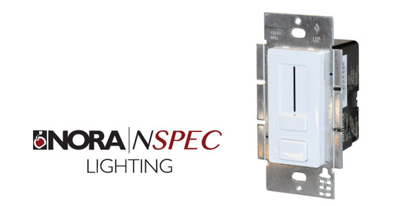 Nora Lighting Introduces Switchex, Revolutionary All-In-One Driver/Dimmer for LED Fixtures