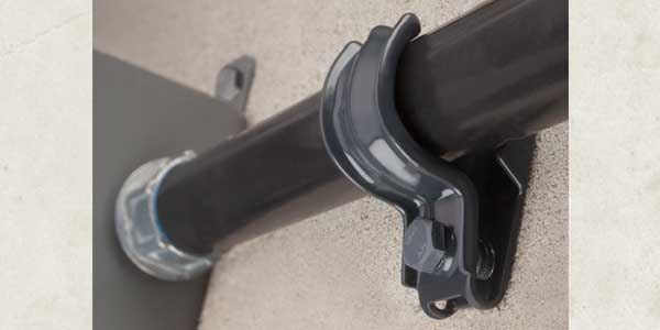 Bridgeport's Mighty-Hold Universal Clamp Strap Now Comes with Polyolefin Coating