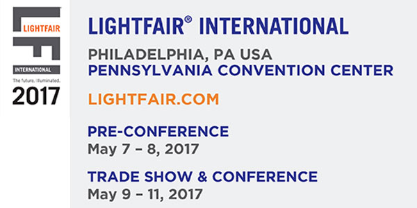 The Global Lighting, Design and Technology Community Connects at LIGHTFAIR® International 2017