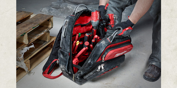 Milwaukee Introduces Ultimate and Low-Profile Jobsite Backpacks