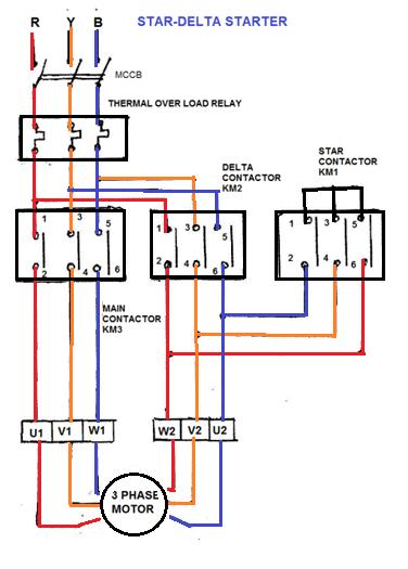 3 phase stator diagram wiring schematic