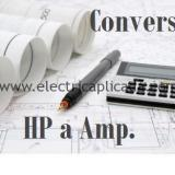 Pasar de HP a Amperios