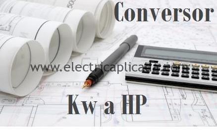 Conversor de Kw a HP