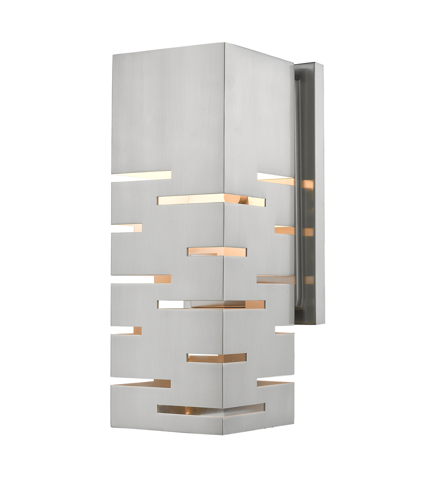 Office Wall Sconces 1 Light Wall Sconce 332 1s Bn Led Electric Avenue Lighting Decor