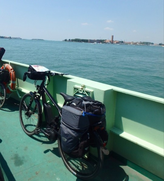 european electric bike tour boat