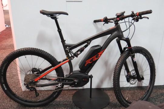 felt duale electric mountain bike