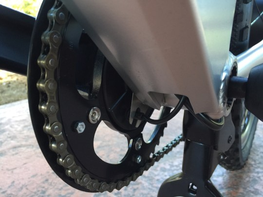 GenZe Sport electric bike crank sensor