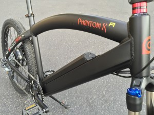 ProdecoTech Phantom XR electric bike frame
