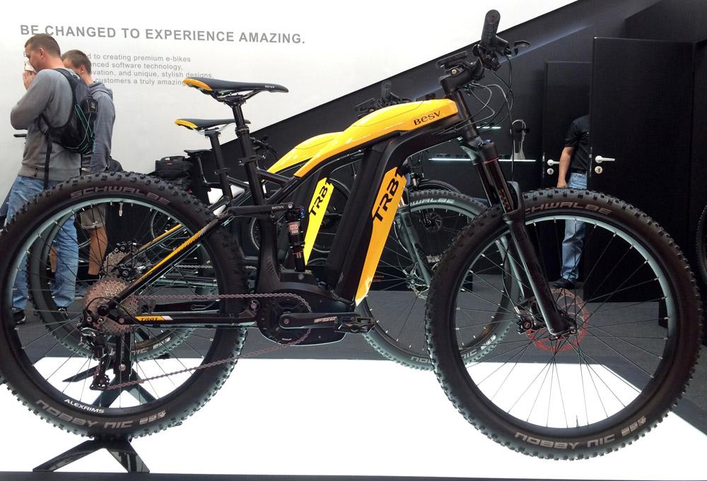 besv trb1 electric mountain bike