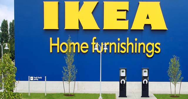 Ikea Stores In Texas Ikea Adds 24 More Charge Stations At 8 Us Locations