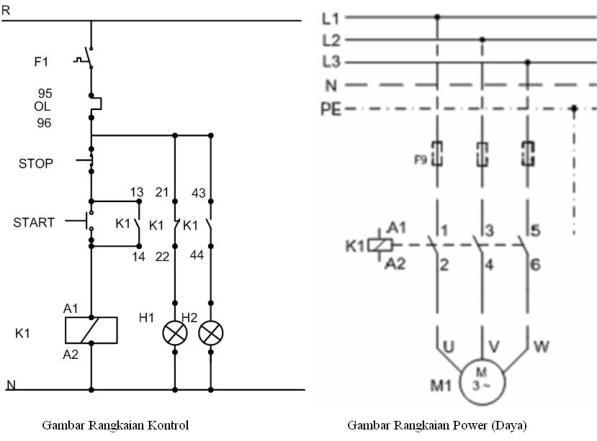 wiring diagram rangkaian dol