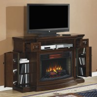 Memphis Infrared Electric Fireplace Media Console ...
