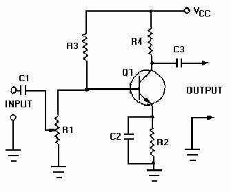 avc automatic volume control circuit