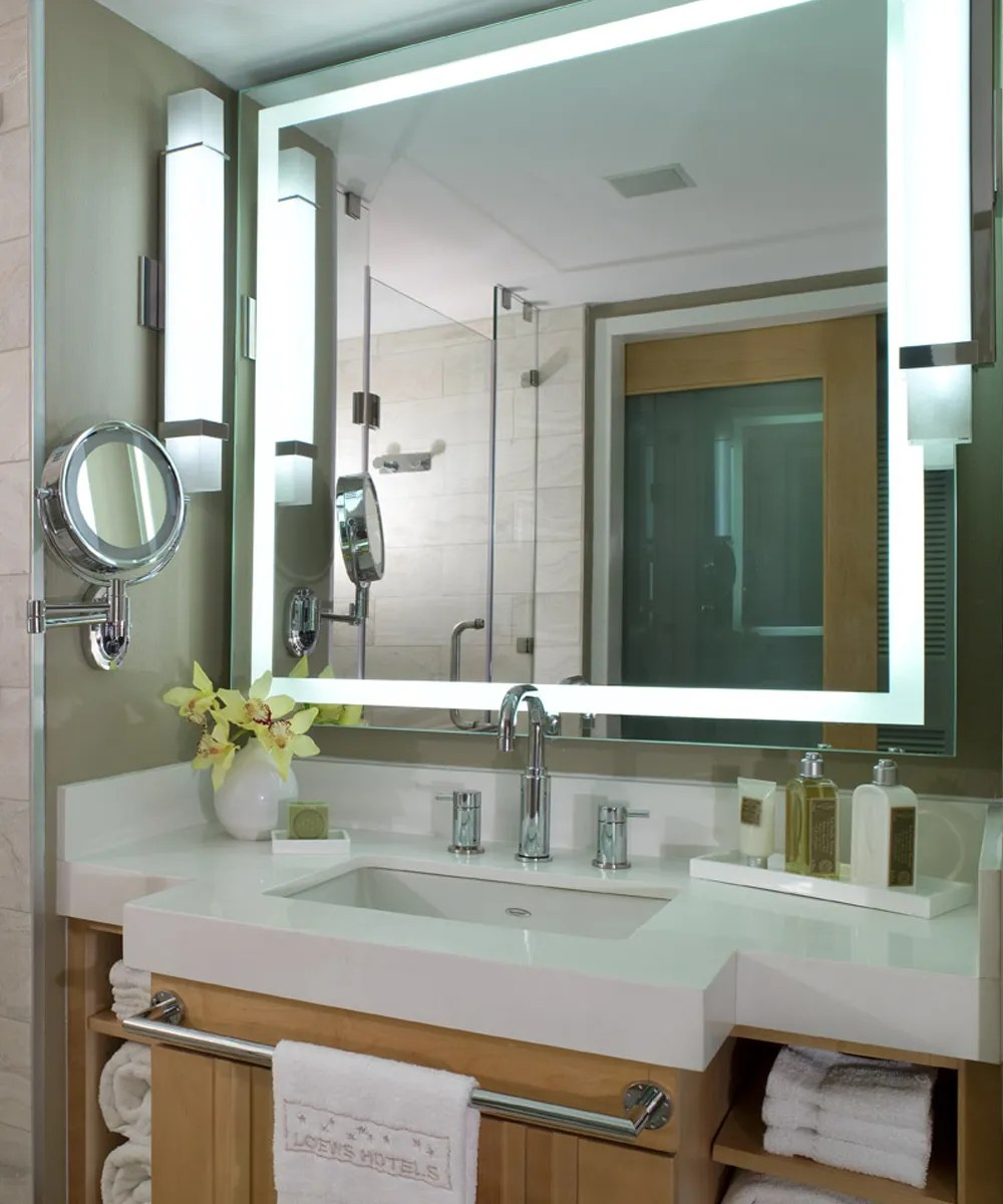 Integrity Led Lighted Mirror Electric Mirror Lighting Company